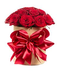 Red Rose Gift Box. Ukraine